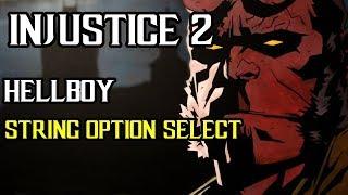 Несправедливость 2 - Хеллбой — Выбор Строки. Стринги как Выбрать