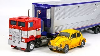 Transformers Movie Bumblebee Studio Series SS-38 Optimus Prime SS-18 Bumblebee Truck Car Robot Toys