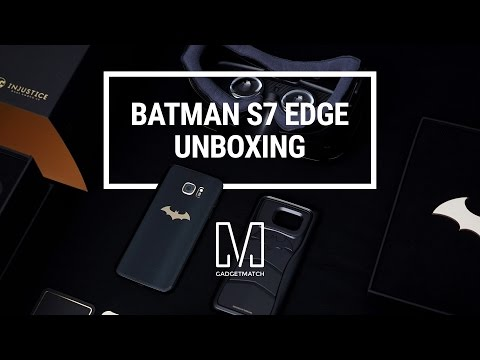 Samsung Batman Galaxy S7 Edge Unboxing