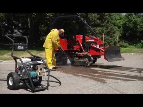 NorthStar Gas Cold Water Pressure Washer - 3.5 GPM, 4000 PSI, Model# 15782020