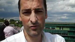 Best impression of Nadal and Andy Murray-Wimbledon 2011