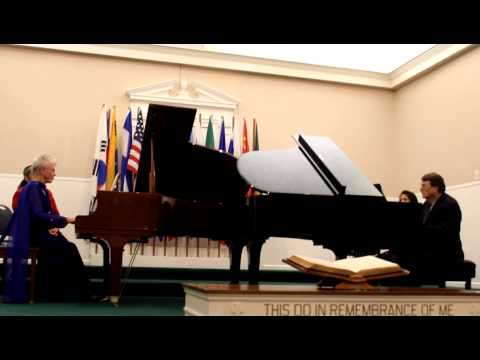 Charla Greenhaw and Ralph Manuel - Duo-Piano Recital - The Girl From Ipanema