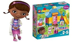 DOTTORESSA PELUCHE - Apriamo la Clinica in giardino Lego Duplo di Dottie [Gioco per Bambini]