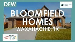 Bloomfield Homes at The Estates of North Grove in Waxahachie, TX