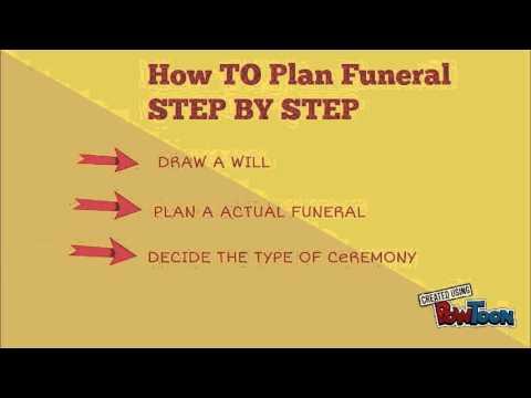 Preplanning Funeral Or Memorial Preneed Funeral Planning