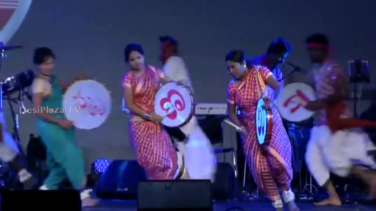Rasamayi Balakrishna and his group singing Janapada geetalu on Final Day - ATA Convention 2016