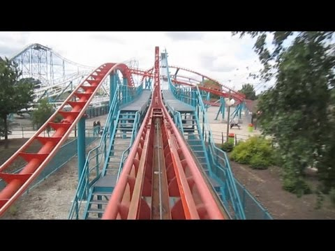 Velocity Front Seat on-ride HD POV Flamingo Land Theme Park & Zoo