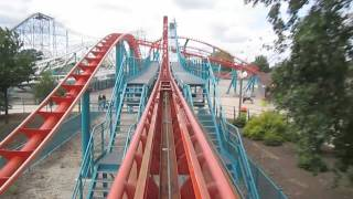 Velocity Front Seat on-ride HD POV Flamingo Land Theme Park & Zoo