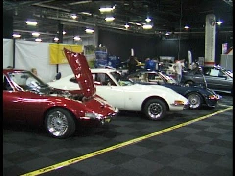 Opel Gt Uk Owners Club Stand Manchester Classic Car Show 2015