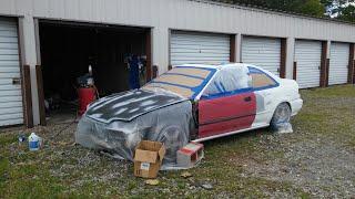 Civic $50 Rustoleum Paint Job