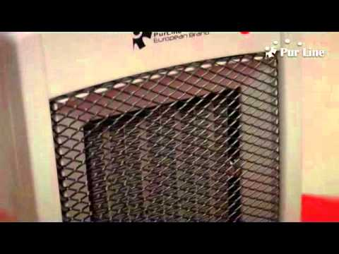 Calefactor el ctrico cer mico heaty552 purline youtube for Calefactor mural electrico
