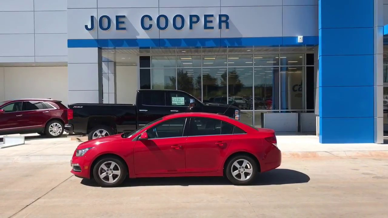 Melissa S 2017 Cruze From Chad At Joe Cooper Chevy Cadillac In Shawnee Ok