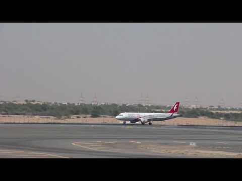 At Sharjah International Airport
