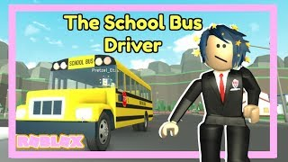 Roblox High School Bus Driver Routine (Roblox Story)