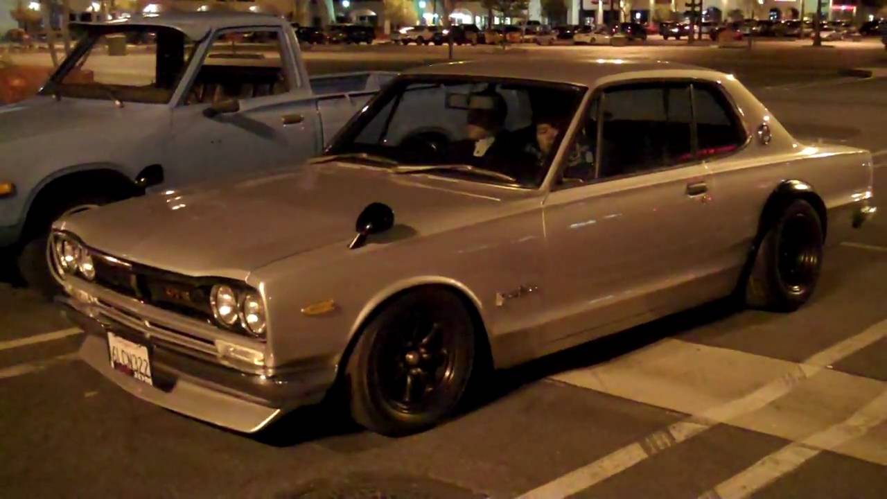 L28 Powered C10 Skyline Hakosuka @ Japanese Classic Car ...