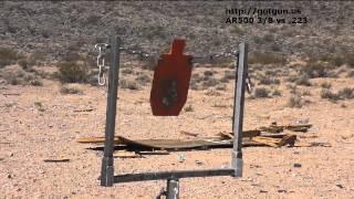 ar500 steel target 3 8 vs 223