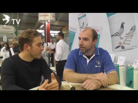 Thorsten Weber im Interview mit Denis Faber auf dem Int. TaubenMarkt Kassel 2016