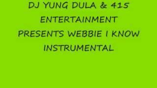 Lil Webbie- I Know Instrumental