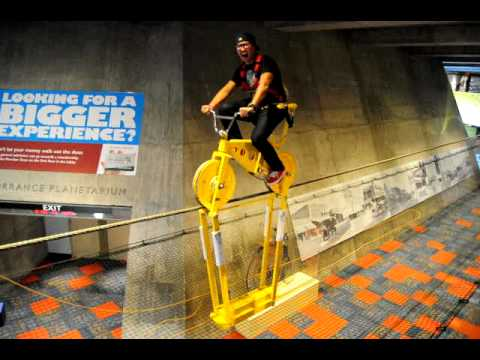 SKYCYCLE Tilt YouTube - Pedal powered skycycle rollercoaster japan amazing