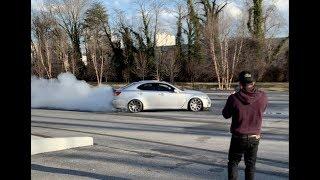 Lexus ISF Burnout/Drift