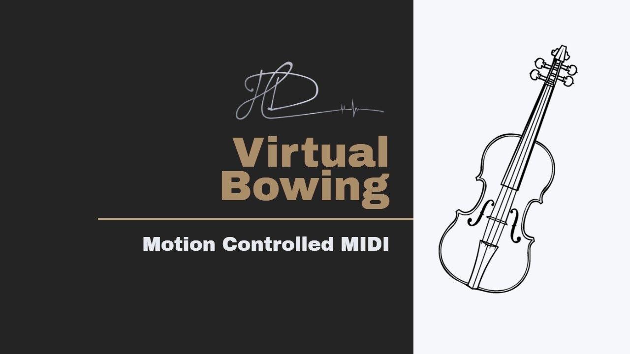 Playing a Virtual Violin with Serenade + Geco MIDI