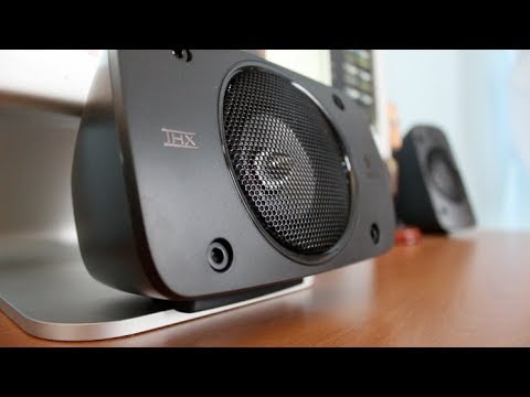 Review Logitech Z906 5 1 Speaker System Youtube
