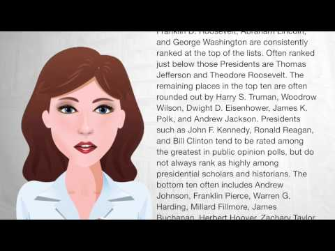 Historical rankings of Presidents of the United States - Wiki Videos