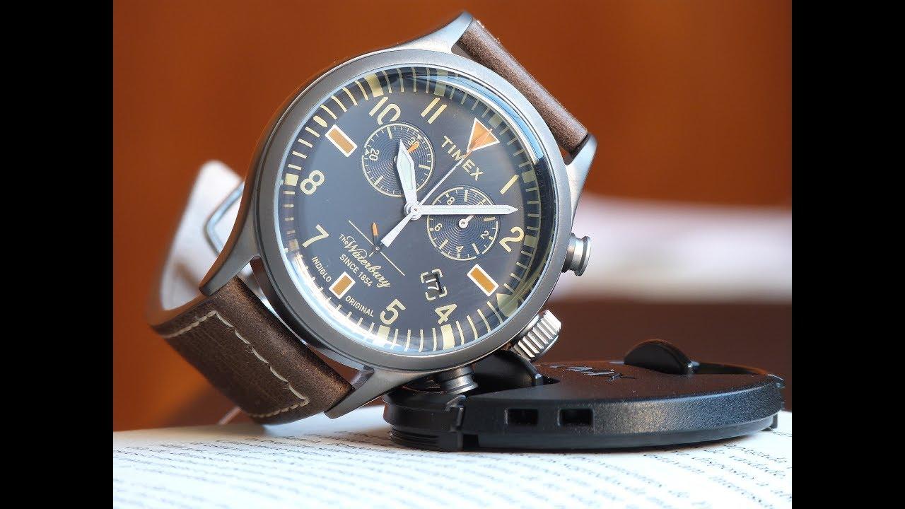 6a5073be35b Relógio Timex Waterbury TW2P84100WW N Originals Couro - YouTube