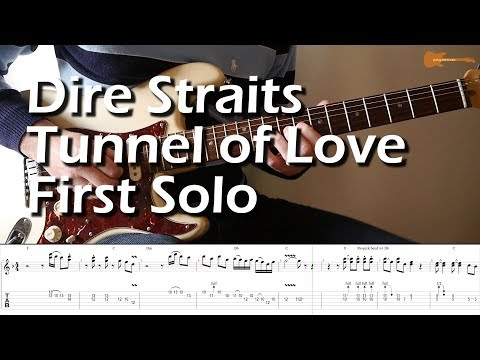 Dire Straits Tunnel of Love First Solo With Downloadable Tab And Backing Track