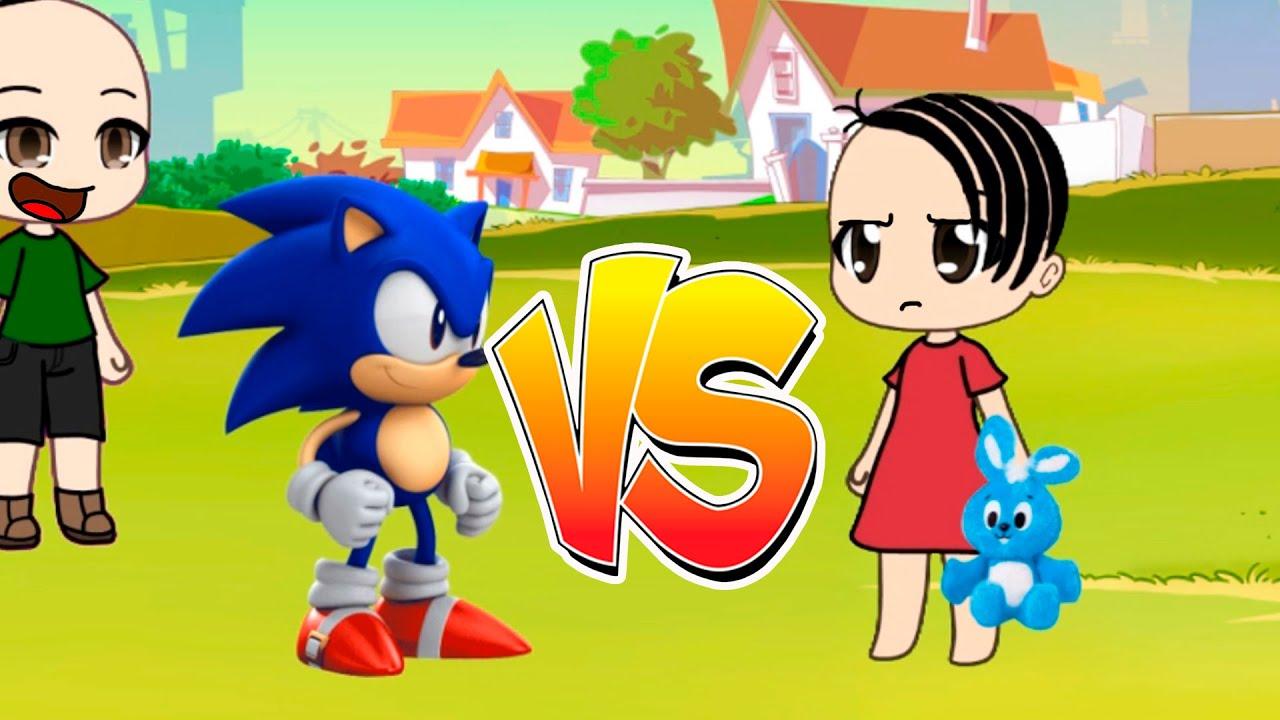 Sonic vs Monica