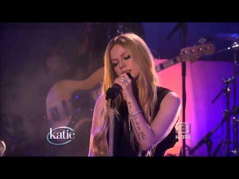 Avril Lavigne - Let Me Go  - Live The Katie Couric Show