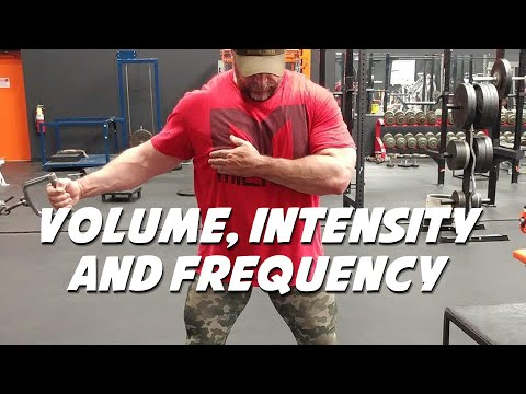 Building a Workout Balancing Volume, Intensity, and Frequency