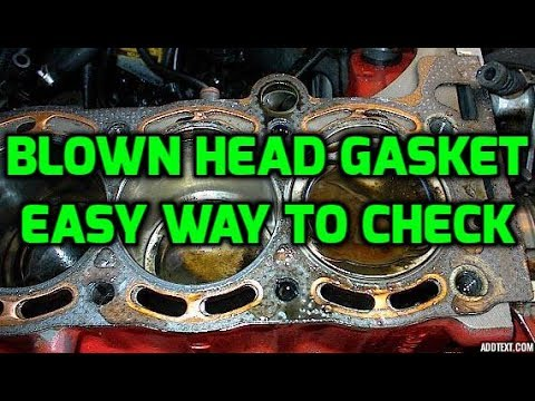 How To Check For A Blown Head Gasket Youtube