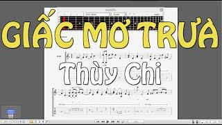 [Tab Solo] GIẤC MƠ TRƯA - Thùy Chi [EASY Guitar Tab]