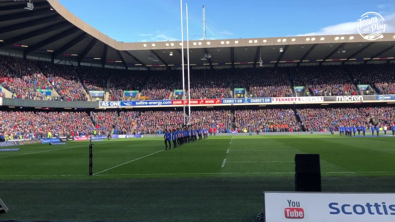 "Revivez ""Flower of Scotland"" en direct de Murrayfield"