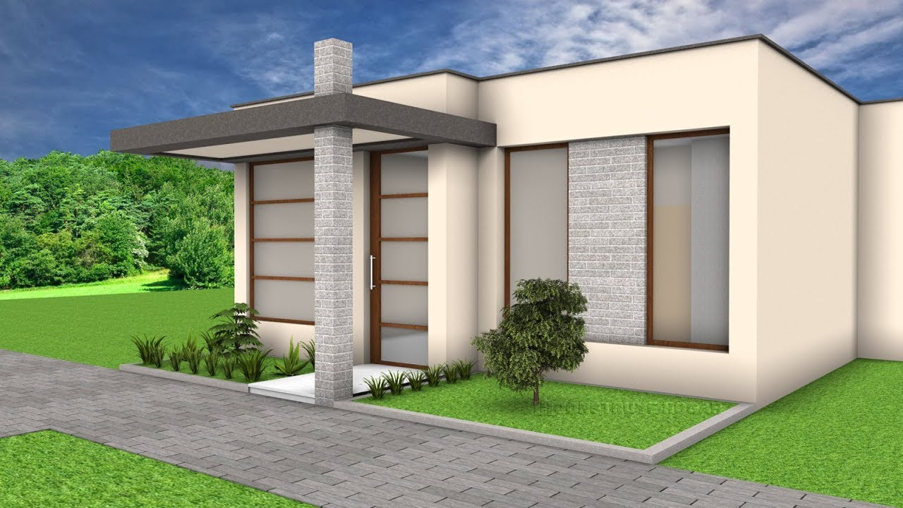 5 ideas para construir casa en terrenos peque os youtube for Ideas para construir una casa moderna