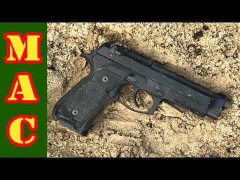 Beretta M9A1 Reliability Test!