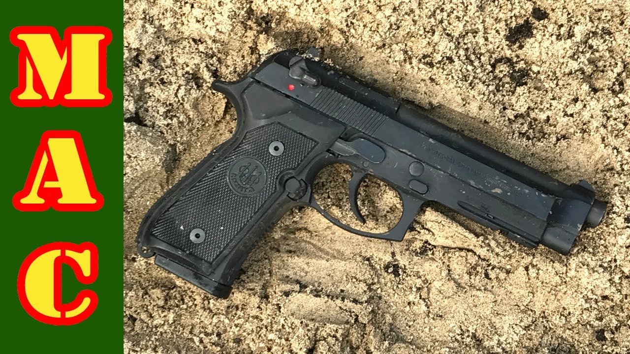 Beretta M9A1 Reliability Test! - YouTube