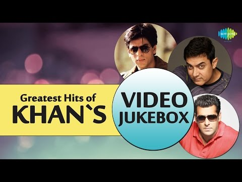 Greatest Hits Of Khans   Best Of Bollywood Movie  Songs  Shahrukh,Salman, Amir Khan