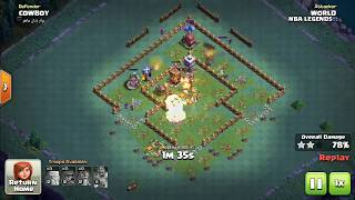 Coc part 2 builder base best attack 90+ damage to opponent