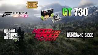 Nvidia Geforce GT 730 GDDR5   Gaming Performance in 2019
