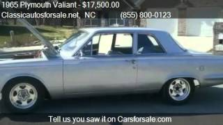 1965 Plymouth Valiant  - for sale in , NC 27603 #VNclassics