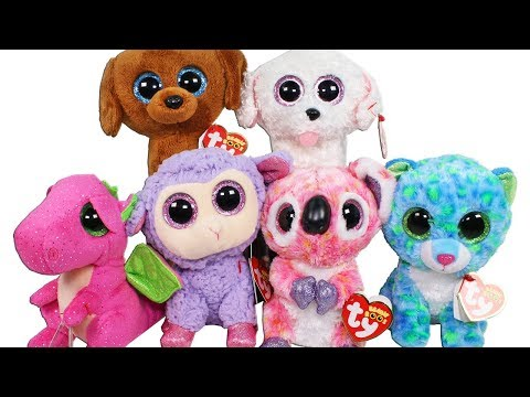 1e327c65283 Beanie Boo Haul from BAM Books a Million Unboxing Toy Review TY Beanie Boos  Plush