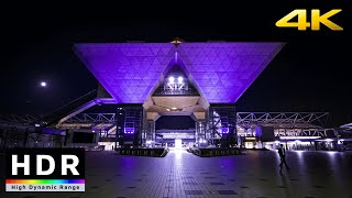 【4K HDR】Tokyo Night Walk  Odaiba to Ariake (東京散歩)  Fall 2020