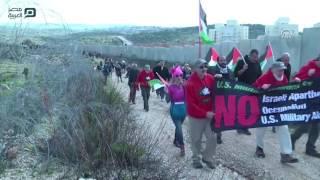 مصر العربية | إصابة العشرات باختناق إثر تفريق الجيش الإسرائيلي مسيرات بالضفة الغربية
