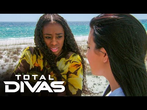 Naomi and Liv Morgan practice for a mermaid show: Total Divas Preview Clip, Oct. 15, 2019 from YouTube · Duration:  1 minutes 2 seconds