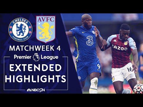 Chelsea v. Aston Villa | PREMIER LEAGUE HIGHLIGHTS | 9/11/2021 | NBC Sports |