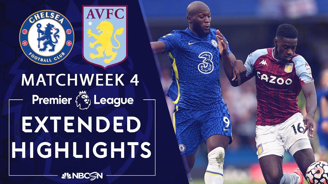Chelsea v. Aston Villa | PREMIER LEAGUE HIGHLIGHTS | 9/11/2021 | NBC Sports
