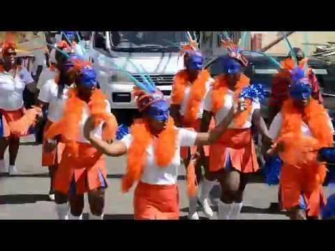 Credit Union Day 2016 March Past Grenada