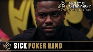 Kevin Hart Plays Sick Poker Hand | PokerStars Championship Cash Challenge
